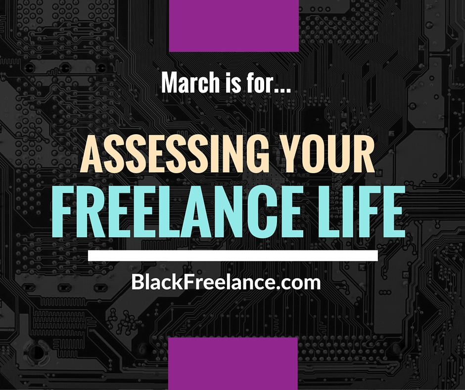 It's Reflection And Assessment Month At BlackFreelance!